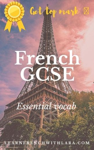 French GCSE Booklet